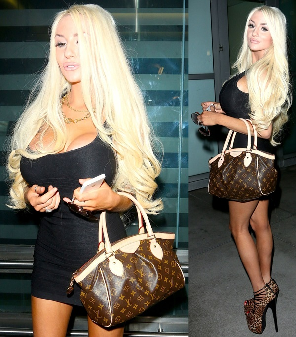 Courtney Stodden Shows Off Her Best Provocative Poses