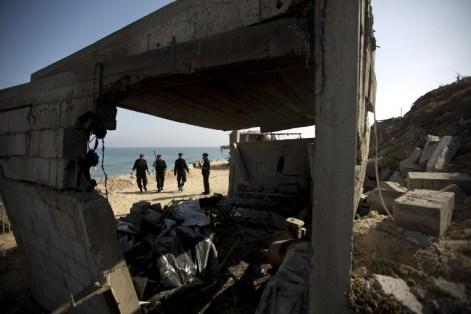PALESTINIAN-ISRAEL-CONFLICT-RAID