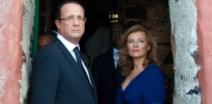 SENEGAL: President Francois Hollande visits the Slaves House in Goree Island