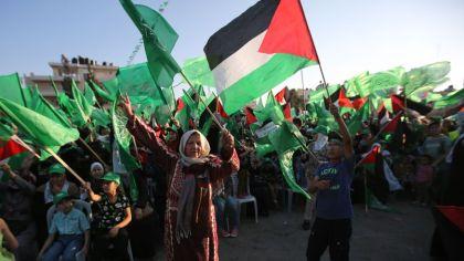 PALESTINIAN-ISRAEL-CONFLICT-HAMAS-DEMO
