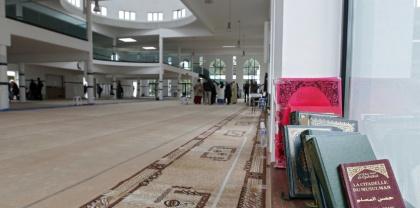 VILLENEUVE D'ASCQ: Journee portes-ouvertes a la Grande Mosquee