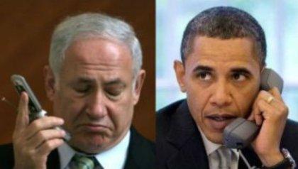 Netanyahu-et-Obama-au-téléphone