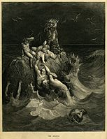 153px-Gustave_Doré_-_The_Holy_Bible_-_Plate_I,_The_Deluge