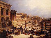 200px-David_Roberts-IsraelitesLeavingEgypt_1828