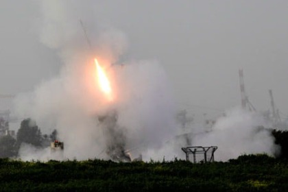 ISRAEL PALESTINIANS MISSILE ATTACK