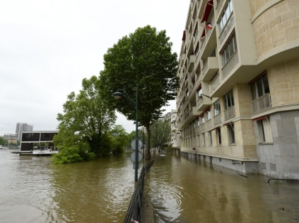 FRANCE-WEATHER-FLOOD