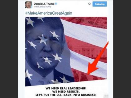 Le tweet de Donald Trump avec des soldats nazis