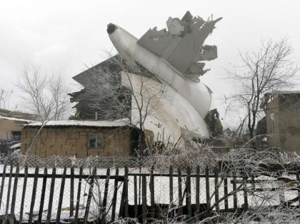 APTOPIX Kyrgyzstan Plane Crash