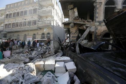people-gather-on-the-rubble-of-a-residential-building-hit-by-a-saudi-led-air-strike-in-yemen-s-capital-sanaa_5570073