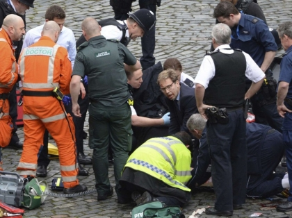 Britain Parliament Incident