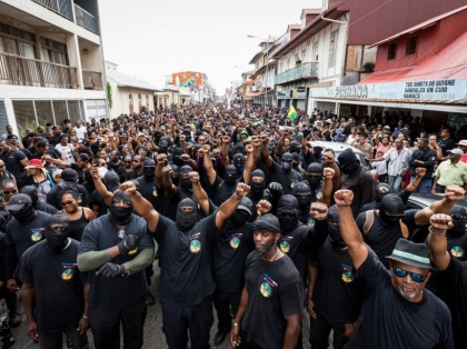 FRANCE-OVERSEAS-GUIANA-LABOUR-STRIKE