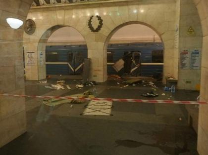 Attentat dans le métro de Saint-Pétersbourg, lundi 3 avril