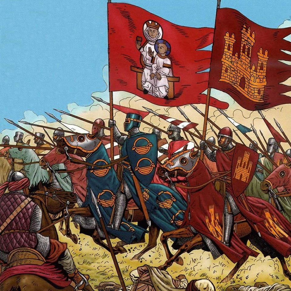 Just Add Water: Battle of Las Navas de Tolosa 1212- Ongoing Project For  Next Year